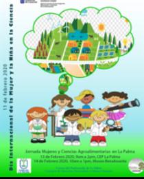 CEGICEP en la Semana Internacional de la Mujer y la Niña en la Ciencia 2020 en La Palma