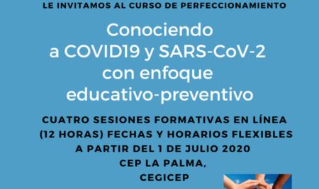 COVID19 en CEP La Palma y CEGICEP